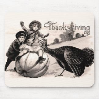 Vintage Thanksgiving Muismat