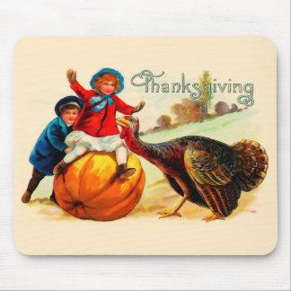 Vintage Thanksgiving Muismatten