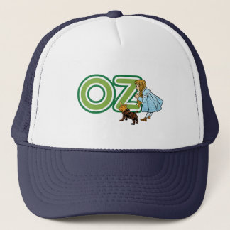 Vintage Tovenaar van Oz Dorothy Toto met GROTE Trucker Pet