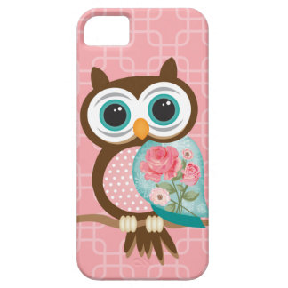 Vintage Uil Barely There iPhone 5 Hoesje