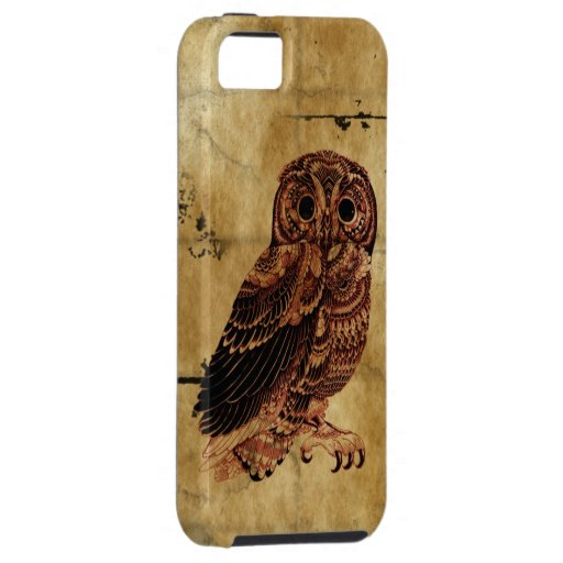 Vintage Uil iPhone 5 Covers