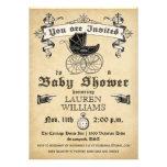 Vintage Uitnodiging II van het Baby shower