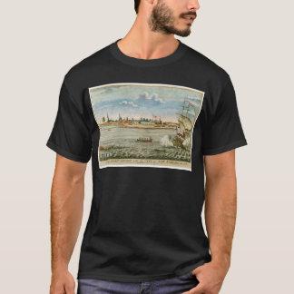 Vintage Uitzicht van de Stad New-York Van SW T Shirt