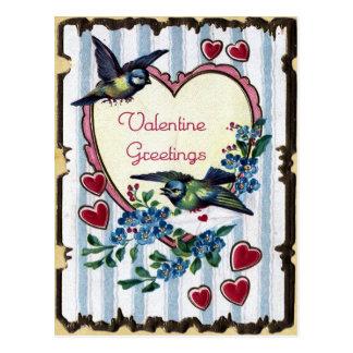Vintage Valentijn Briefkaart