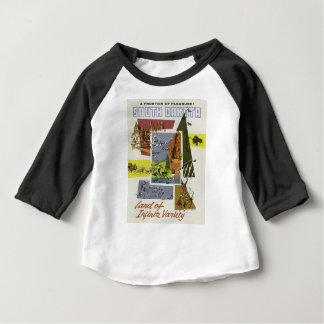 Vintage Van de Zuid- reis Dakota de V.S. Baby T Shirts