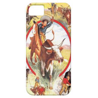 """""""Vintage Veedrijfster"""" Westerne IPhone 5 Hoesje"""