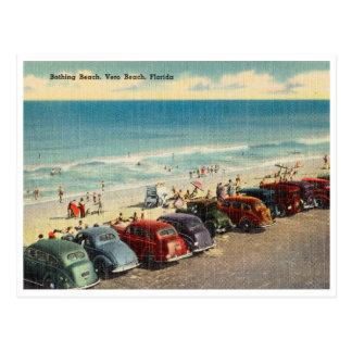Vintage Vero Strand, Florida Briefkaart