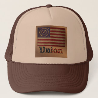 Vintage Vlag 2 van de Unie van de V.S. Trucker Pet