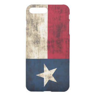 Vintage Vlag Grunge van Texas iPhone 7 Plus Hoesje
