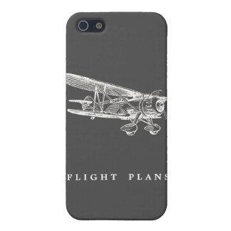 Vintage Vliegtuig, de Plannen van de Vlucht iPhone 5 Hoesjes
