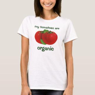 Vintage Voedsel, de Organische Rode Rijpe Tomaat T Shirt