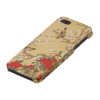 Vintage Vogels en Bloemen iPhone 5 Case