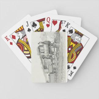 Vintage VoortbewegingsSpeelkaarten Speelkaarten