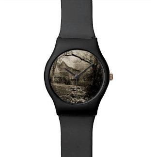 Vintage Waterrad Horloge