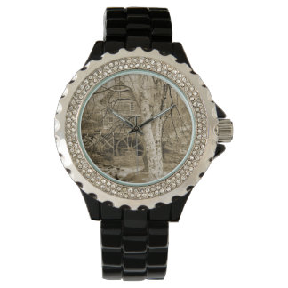 Vintage Waterrad Horloges