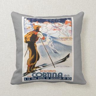 Vintage wintersporten, Ski Italië, d'Ampezzo Sierkussen