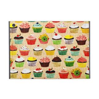 Vintage Yummy Cupcakes iPad Mini Hoesje