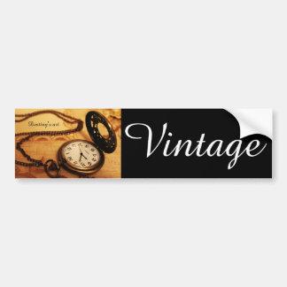 Vintage zakhorlogefotografie bumpersticker