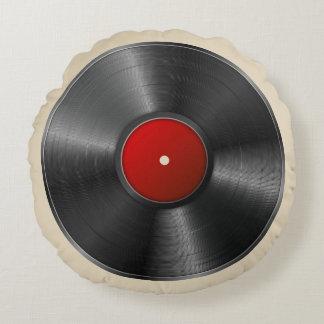 Vinyl Verslag Rond Kussen