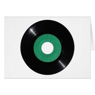 Vinyl verslag transparant PNG Wenskaart
