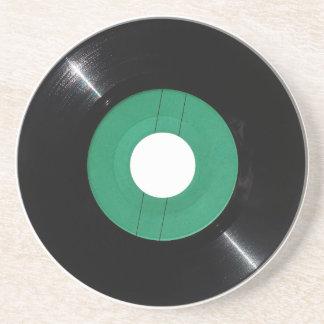 Vinyl verslag transparant PNG Zandsteen Onderzetter