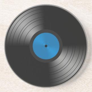 Vinyl Verslag Zandsteen Onderzetter