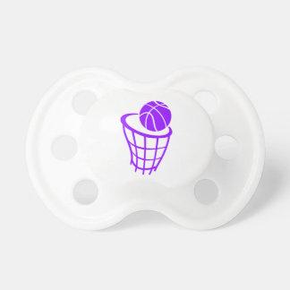 Violet Paars Basketbal Fopspeen