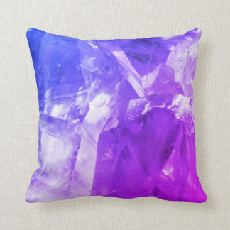Violetkleurig ontwerpkussen sierkussen