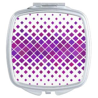 Violette Diamanten Makeup Spiegel