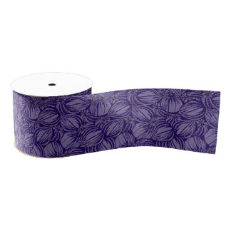 "Violette Fig. 3"" Breed Lint Grosgrain Grosgrain Lint"