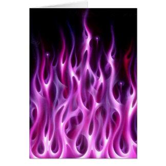 Violette Vlammen Kaart