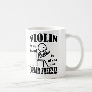 Viool, de Vorst van Hersenen Koffiemok