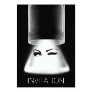 Vip van de Partij van de Nacht van meisjes uit 8,9x12,7 Uitnodiging Kaart