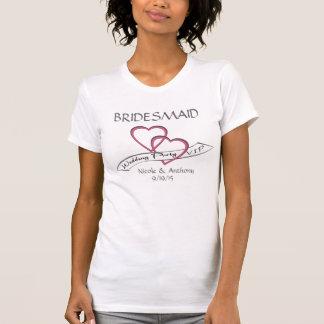 VIP van de Partij van het huwelijk Bruidsmeisje T Shirt