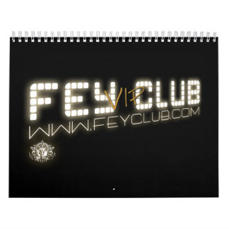 VIP van Oficial FeyClub van Calendario Kalender