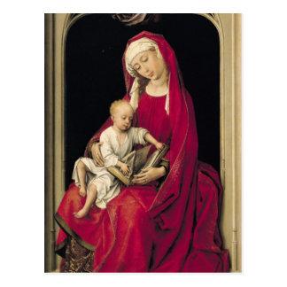 Virgin en Kind, 1464 Briefkaart