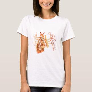 Virgin van Guadalupe in Echt hart T Shirt
