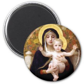 Virgin van Lillies Magneet