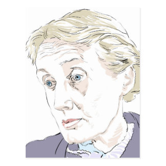 Virginia Woolf Briefkaart