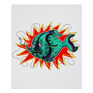 Vis Vissen Poster