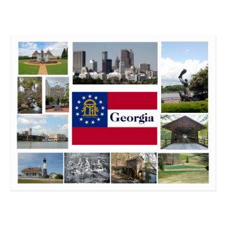 Visies van Georgië Briefkaart