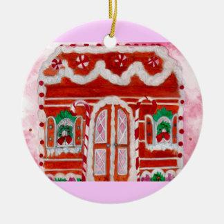 Visies van Sugarplums Rond Keramisch Ornament