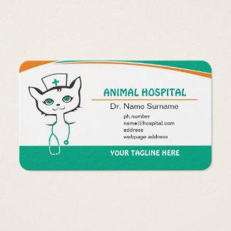 Visitekaartje voor arts in het Dierlijke Visitekaartjes