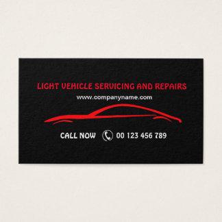 Visitekaartje voor de Autodiensten Visitekaartjes