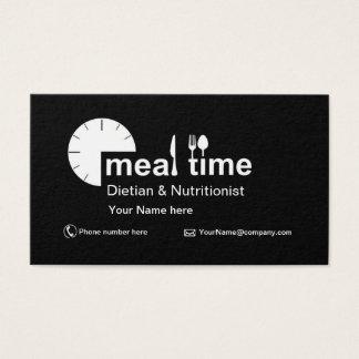Visitekaartje voor Diëtist & Voedingsdeskundige Visitekaartjes