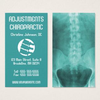 Visitekaartjes van de Chiropraktijk van de Kunst