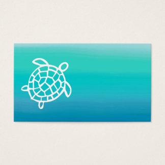 Visitekaartjes van de Waterverf van de Schildpad
