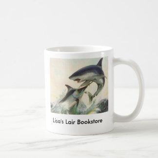 Vissen - de Zwarte Boekhandel Promo van de Marlijn Koffiemok