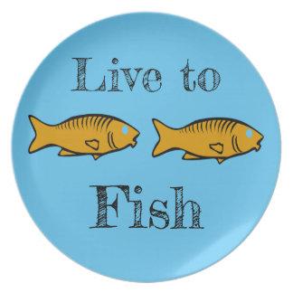 vissen het zwemmen melamine+bord