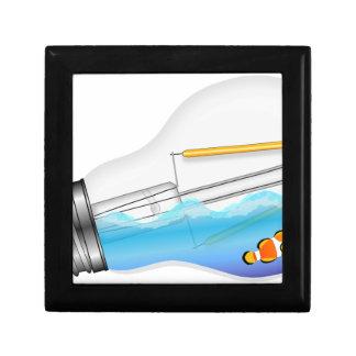 Vissen in Lightbulb Decoratiedoosje